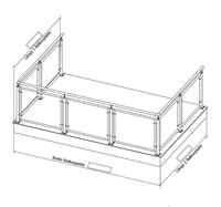 Geländer U-Form