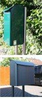 Briefkastenständer aus Edelstahl für SafePost