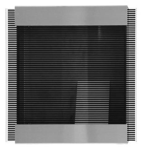 Briefkasten black stripes