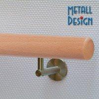 Handlauf-Buche geölt DS24 Länge bis 500 / Durchmesser 42,4 mm