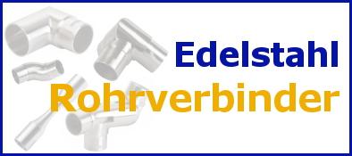 Rohrverbinder-Edelstahl