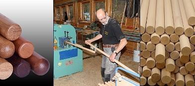 Holz Geländerbauteile