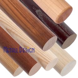 Handlauf aus Holz passend für Glasgeländer