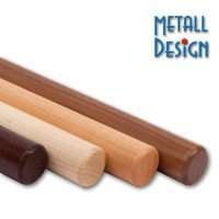 Handlauf Holz Endenbearbeitung radius 42,4 mm