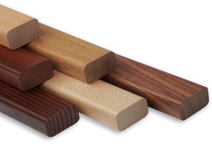 Handlauf Holz Rechteck für Handlauf und Geländer
