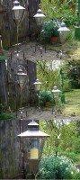 Gartenlaterne 3er Set