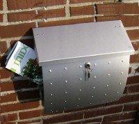 Briefkasten Edelstahl Heibi Krosix 64162-072