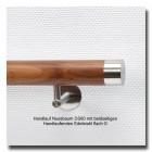 Handlauf Nussbaum DS80 Handlaufenden Edelstahl