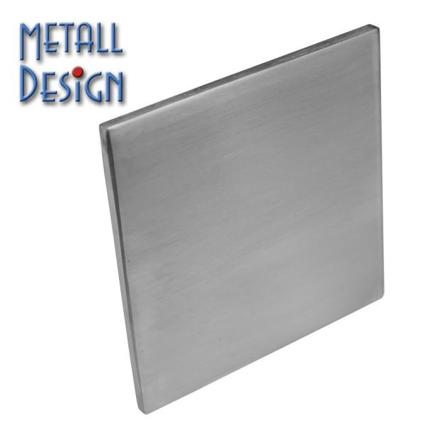 Ankerplatte aus Edelstahl Quadrat