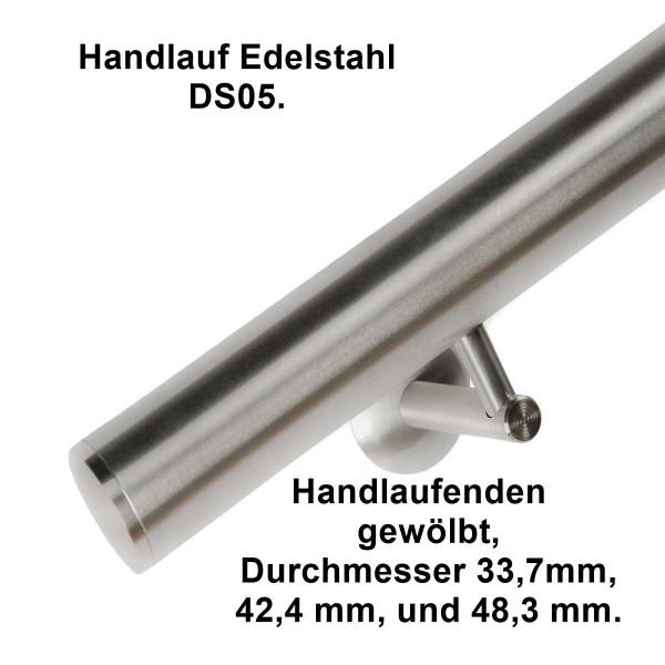 Handlauf DS05 aus Edelstahl, Länge auf Maß bis 6,0 m