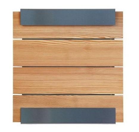 Briefkasten 071500 Glasnost Wood-larch von Keilbach Design