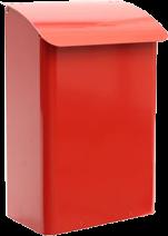 SafePost 14 Briefkasten Rot