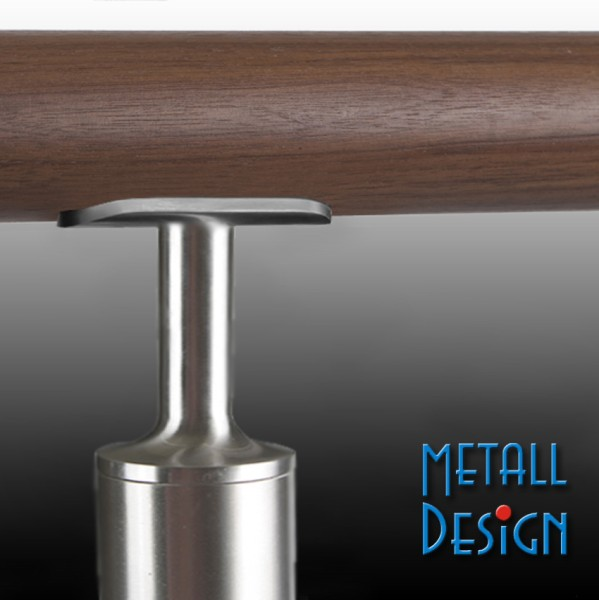 Handrail stainless steel tube support for railing posts