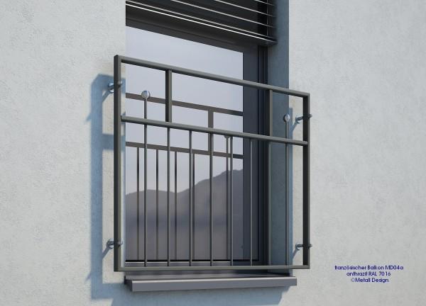 französischer Balkon MD04a anthrazit