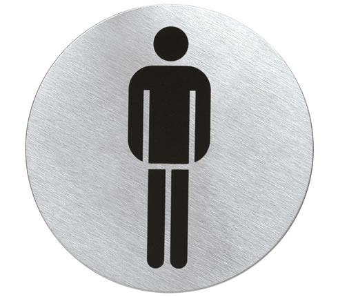 Türschild SIGNO WC Herren von Blomus
