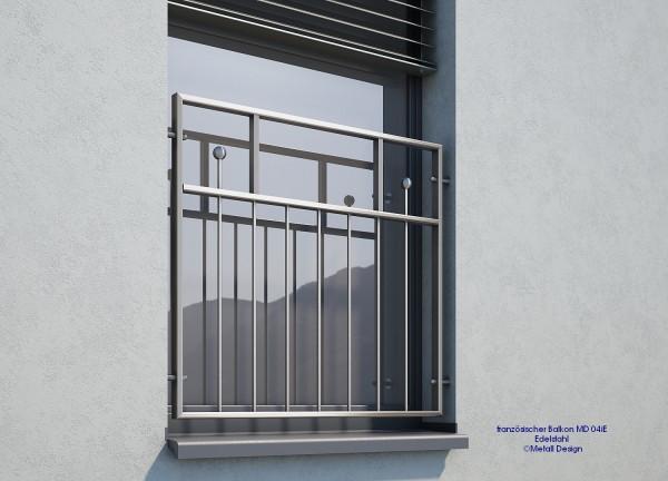 französicher Balkon Edelstahl MD04 i