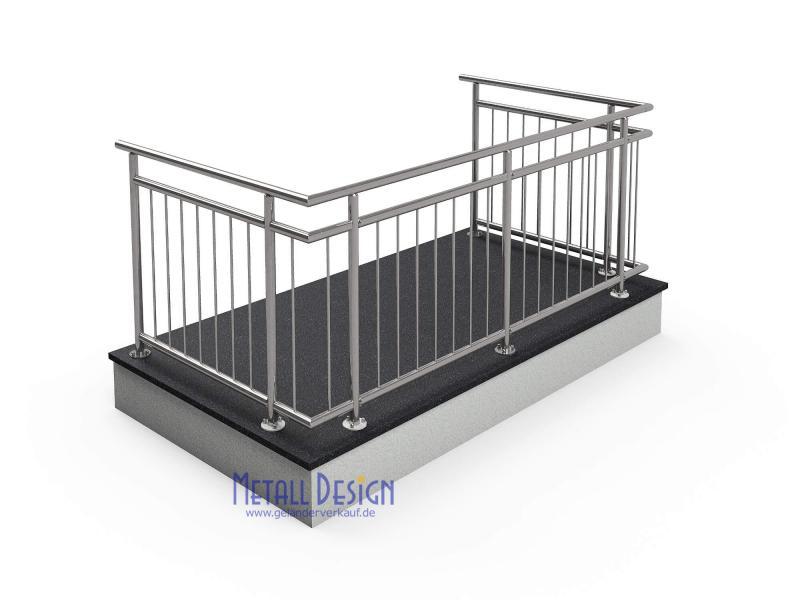 design shop baalcke gel nder edelstahl in gro er auswahl. Black Bedroom Furniture Sets. Home Design Ideas