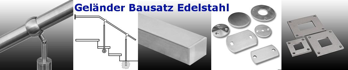 Geländer Bausatz Edelstahl