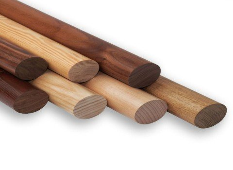 Ovalholz für Handlauf und Geländer