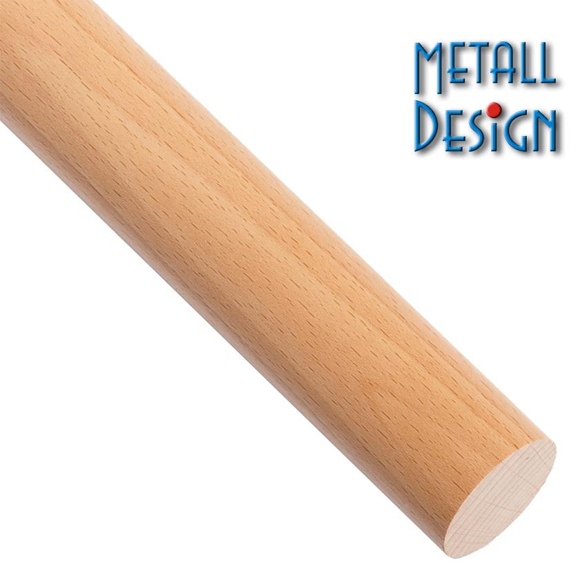 handlauf buche rundholz stab l nge auf ma gefertigt f r. Black Bedroom Furniture Sets. Home Design Ideas