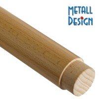 Handlauf Holz Zapfenfräsung Endenbearbeitung 45,0 mm