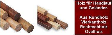 Handlauf Holz für Handlauf und Geländer