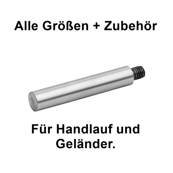 Handlaufhalter Gewindestift zum schweißen 03, für Handlauf und Geländer