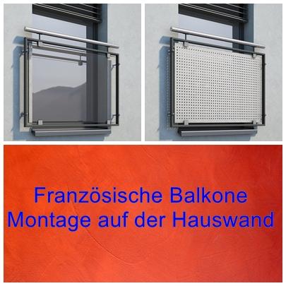 franz sicher balkon montage auf der wand. Black Bedroom Furniture Sets. Home Design Ideas