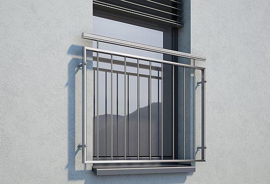 Französischer Balkon Fenstergeländer auf Maß