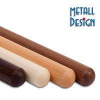 Handlauf Holz Endenbearbeitung Kugelform 42,4 mm
