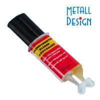Zwei - Komponentenkleber für Geländer und Handlaufteile aus Edelstahl
