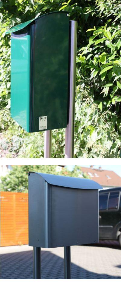 briefkastenst nder aus edelstahl f r safepost safepost briefkasten briefkasten sch ner. Black Bedroom Furniture Sets. Home Design Ideas