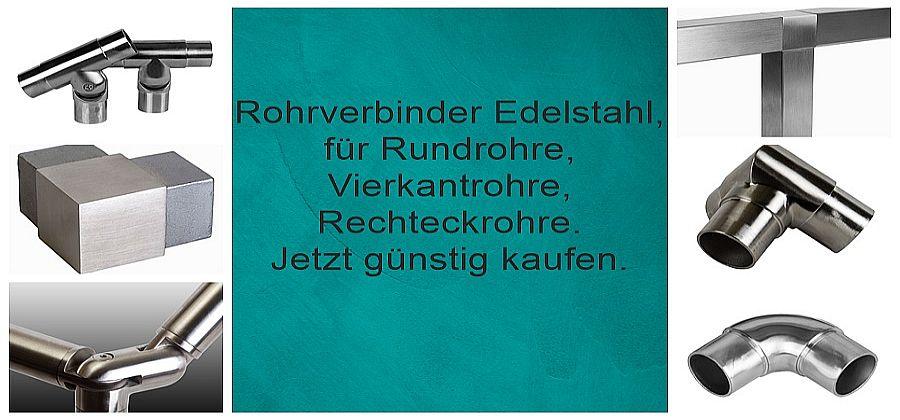 Rohrverbinder Edelstahl