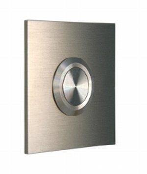 Klingelplatte 08 1003 aus Edelstahl von Keilbach Design