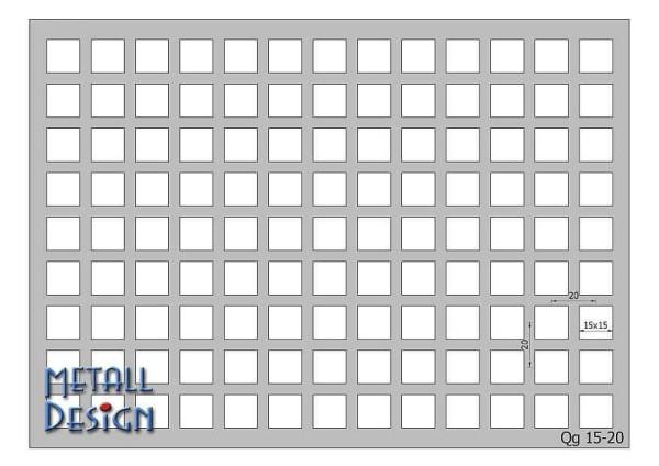 Lochblech Quadratlochung für Lochblechgeländer