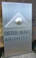 Klingelplatte Edelstahl DS03