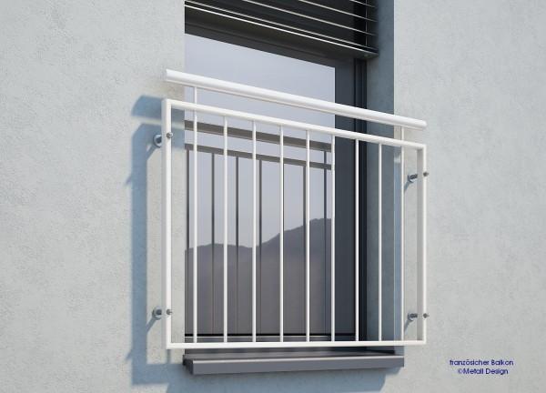 französischer Balkon weiß
