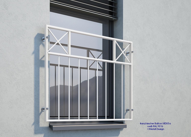 franz sischer balkon md05ap pulverbeschichtet wei ral9016 deutschland. Black Bedroom Furniture Sets. Home Design Ideas