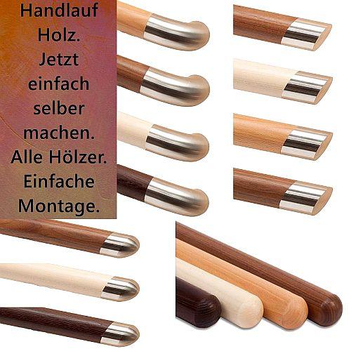 Handlauf Holz Konfigurator