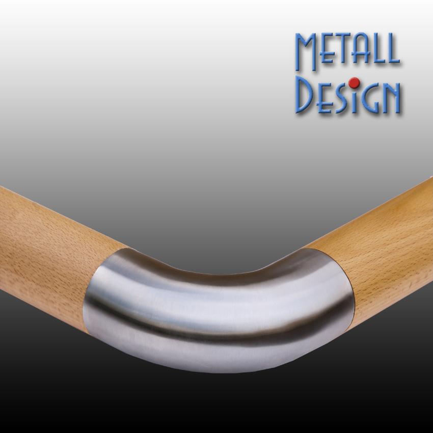 handlauf holz edelstahl verbindungsbogen handlauf holz edelstahl verbinder holzgel nder. Black Bedroom Furniture Sets. Home Design Ideas