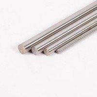 Rundstab-Edelstahl, 10 mm, V2A, fein geschliffen