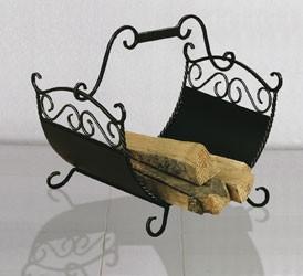 Heibi Holzkorb 65206-026 antik lackiert