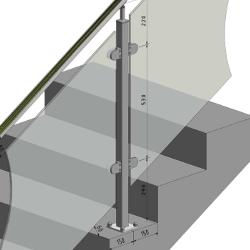 gelaenderpfosten-vierkant-aufgesetzte-montage