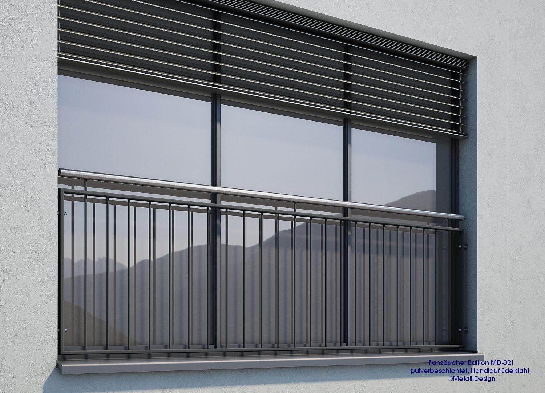 franz sischer balkon md 02ip pulverbeschichtet anthrazitgrau ral7016 deutschland. Black Bedroom Furniture Sets. Home Design Ideas