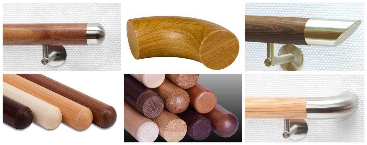 Handlauf Holz