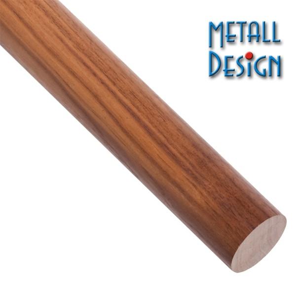 Handlauf Nussbaum-Rundholz Länge auf Maß gefertigt