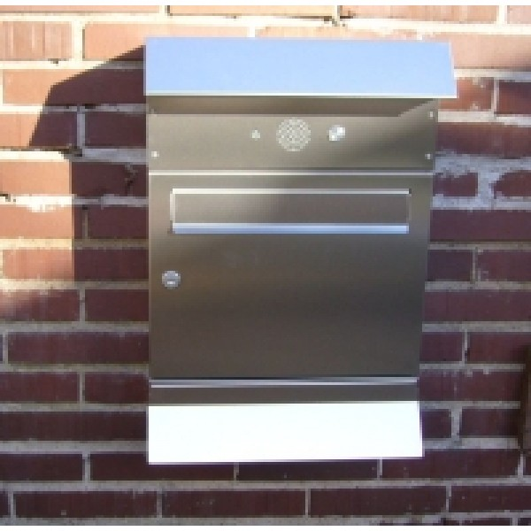 Heibi Briefkasten Malypso-Fix 64274-072 aus Edelstahl
