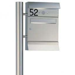 Heibi Briefkasten Malypso Kombi 64276-072 Entnahme auf der Vorderseite
