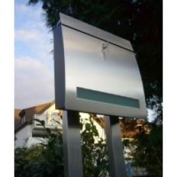 Standbriefkasten Edelstahl DS-Sonderedition Edition1