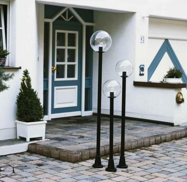 wegeleuchte mastleuchte von albert aussenleuchten farbig aus stahl aluminium guss oder. Black Bedroom Furniture Sets. Home Design Ideas